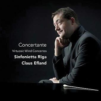 Sinfonietta Riga/Efland - Concertante: Virtuosic Wind Concertos [CD] USA import