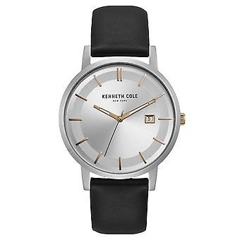 Kenneth Cole New York mænds wrist watch analog quartz læder KC15202001