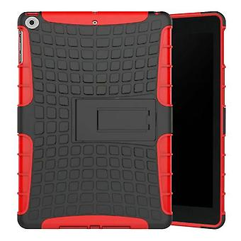 Hybrid outdoor protective cover case red for NEW Apple iPad 9.7 2017 bag