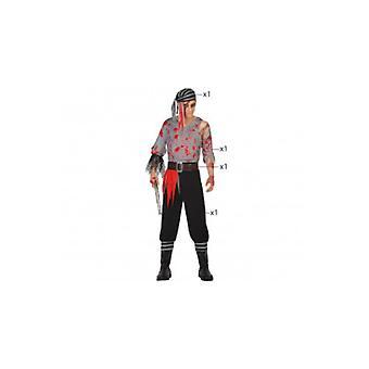Men costumes  pirate zombie halloween costume