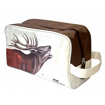 Stag Wash Bag - Ecologie Wild Animals Range by Gift Republic