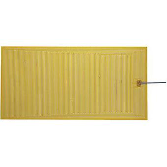 Thermo Polyester Heating foil self-adhesive 24 Vdc, 24 V AC 24 W IP rating IPX4 (L x W) 600 mm x 300 mm