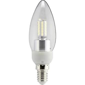 Sygonix LED EEC A+ (A++ - E) E14 Candle 4 W = 40 W Warm white (Ø x L) 35 mm x 112 mm 1 pc(s)