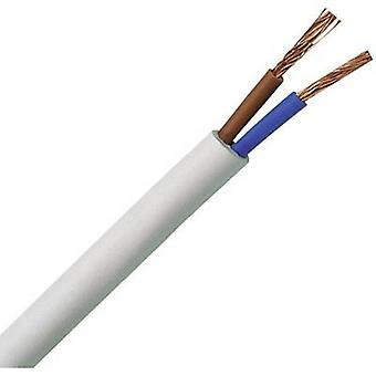 Flexible cable H03VV-F 2 x 0.75 mm² White Kopp
