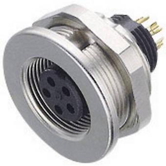 Binder 09-0412-00-04 Sub Miniature Round Plug Connector Series Nominal current (details): 3 A