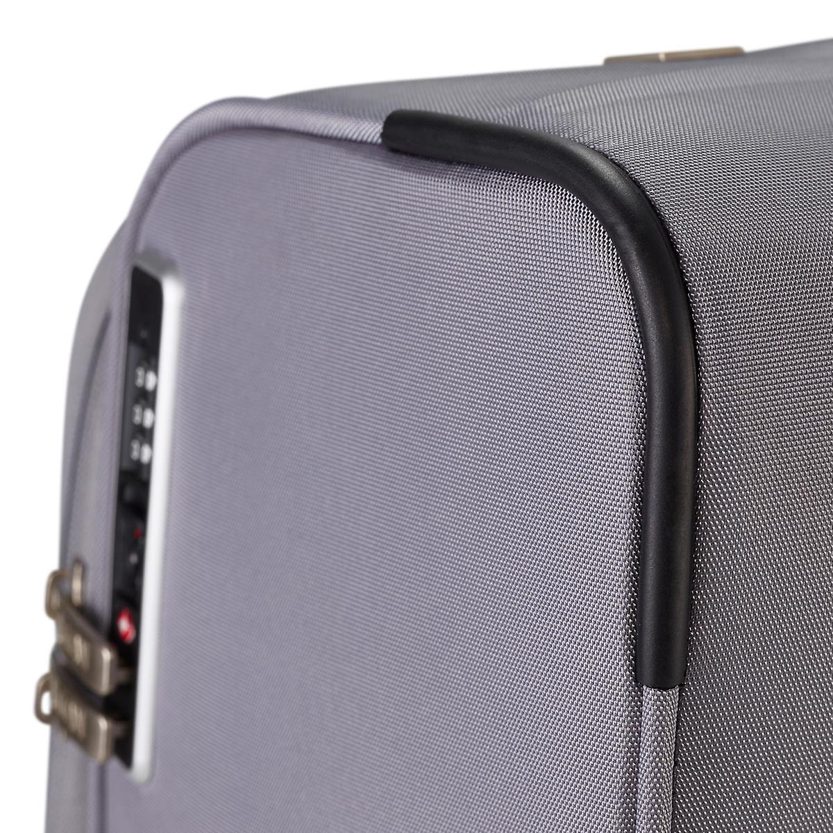 Titanium Spotlight soft soft luggage 4 wheel trolley case L 77 cm 384404-04 540ac61d0051b