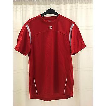 Wilson men's T-Shirt Club red/white WRE10170014