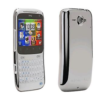 Case-Mate - Barely There Case for HTC Status - Metallic Silver