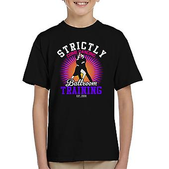 Strictly Come Dancing Ballroom Training Kid's T-Shirt