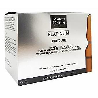 Martiderm Photo Age Aging Prevention 30 Ampoules (Cosmetics , Facial , Concentrates)