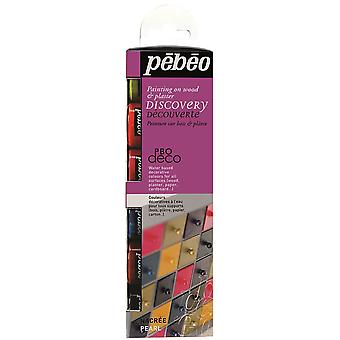 Pebeo Deco Acrylic Paint Discovery Set Pearl 6 x 20ml