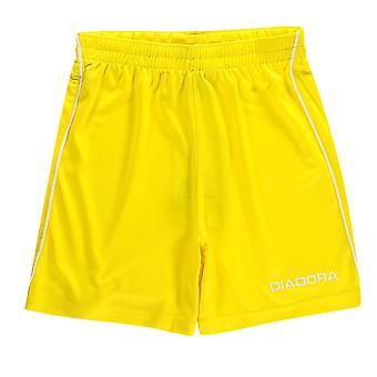 Diadora Kinder jungen Madrid Fußball Shorts Junior-Leichtgewicht Hose Hosen & Röcke