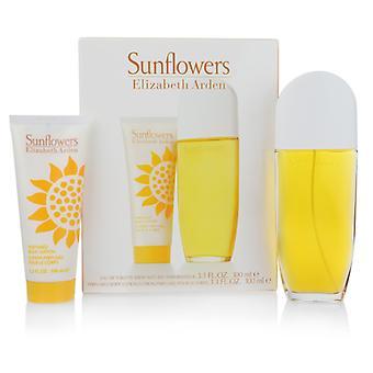 Elizabeth Arden zonnebloemen 100 ml cadeau set Eau de Toilette Spray + bodylotion