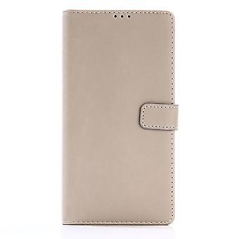 Sony Xperia XA1 Ultra Retro Wallet Case-Beige