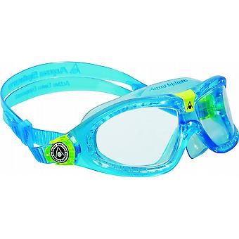 Aqua Sphere Seal Kid 2 Swimming Goggle - klart linser - Aqua blå