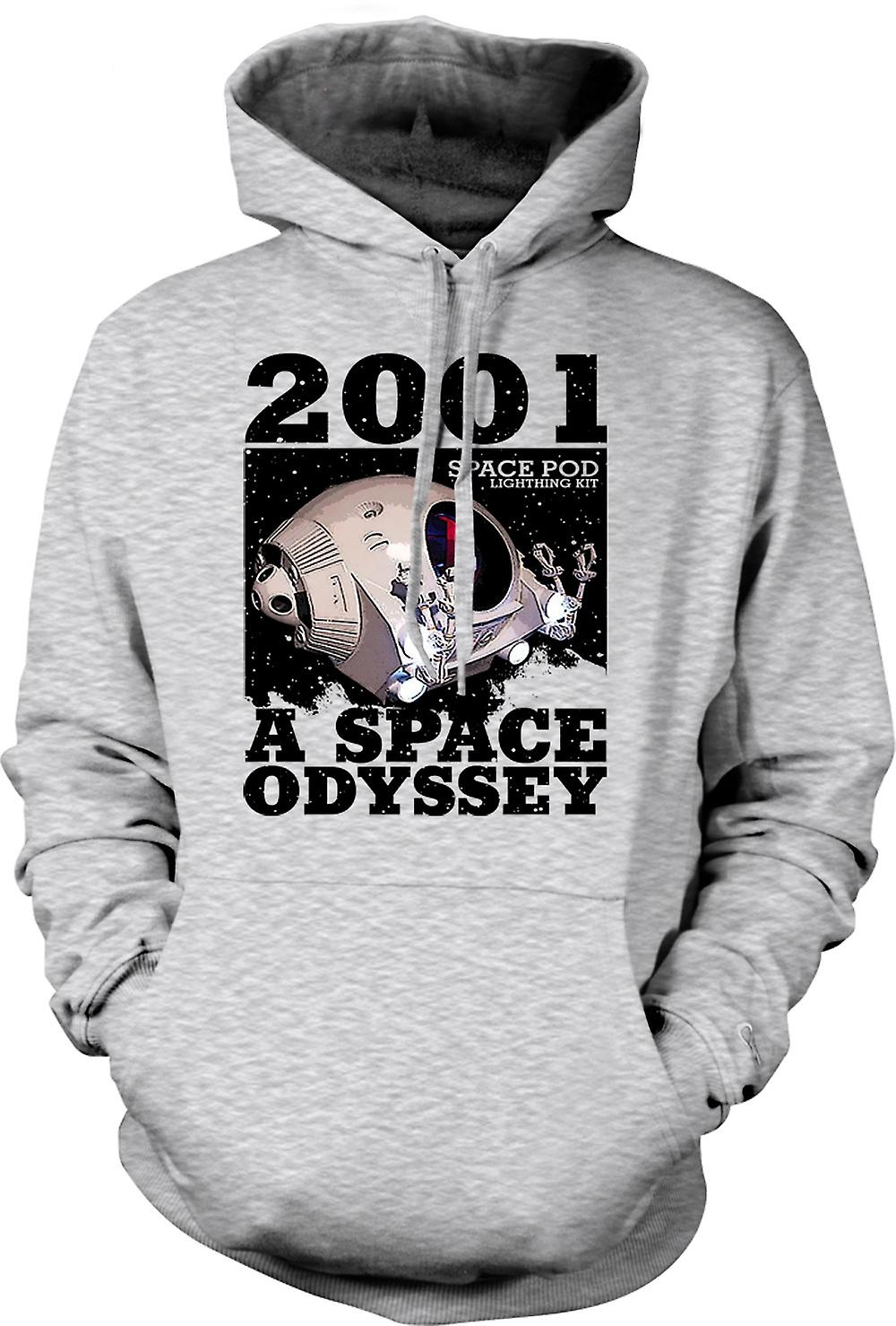 Mens-Hoodie - 2001-Space Odyssey - Space Pod