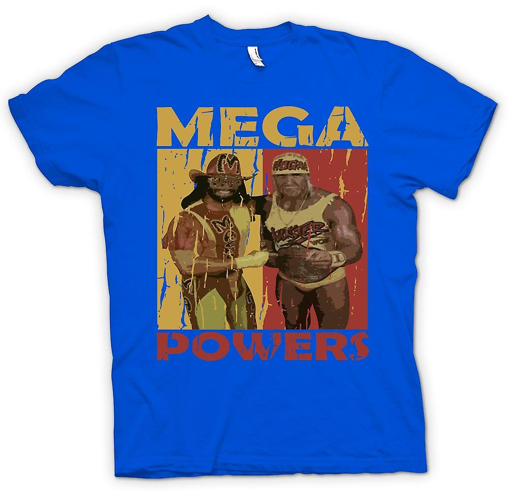 Mens T-shirt - Mega Powers Classic Wrestling