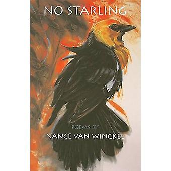 Aucun Starling - poèmes de Nance Van Winckel - livre 9780295987361