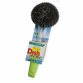 Dishmatic Steel Scourer For Cleaning BBQ's & Grills from Caraselle