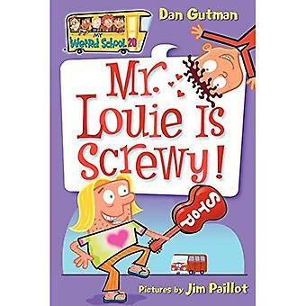 Sr. Louie está ferrado! (Minha escola estranho)