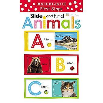 Skjut och hitta ABC djur (skolastiska tidigt lärande: Skjut och hitta)