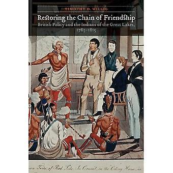 Restauración de la cadena de la amistad: la política británica y los indios de los grandes lagos, 1783-1815