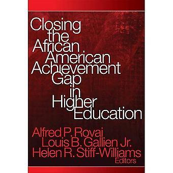 African American prestation klyftan i högre utbildning