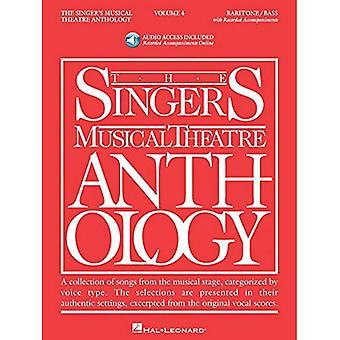 Antologia di teatro musicale del cantante, Volume 4: basso/baritono con CD (Audio): 4 (antologia di cantanti Musical Theater)