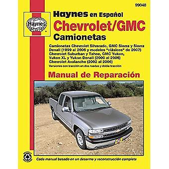 Chevrolet och GMC Camionetas Manual de Reparacion