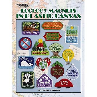 Ecology Magnets in Plastic Canvas