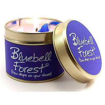 Lily Flame Scented Candle in a presentation Tin - Bluebell Forest