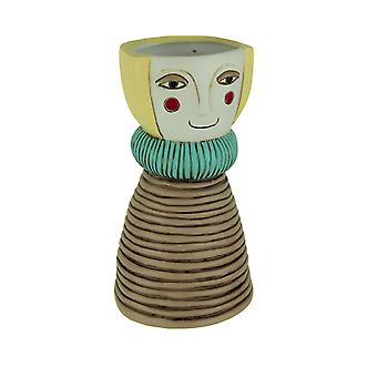 Allen Designs Lady Blonde Decorative Planter Vase