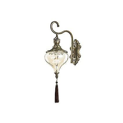 Ideal Lux - Harem laiton Antique et verre mur léger IDL115962