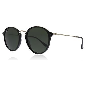 Ray-Ban RB2447 901 Black RB2447 Round Sunglasses Lens Category 3 Size 52mm