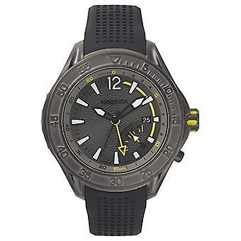 Nautica Analogueico Watch quartz mannen met siliconen band NAPBRW003