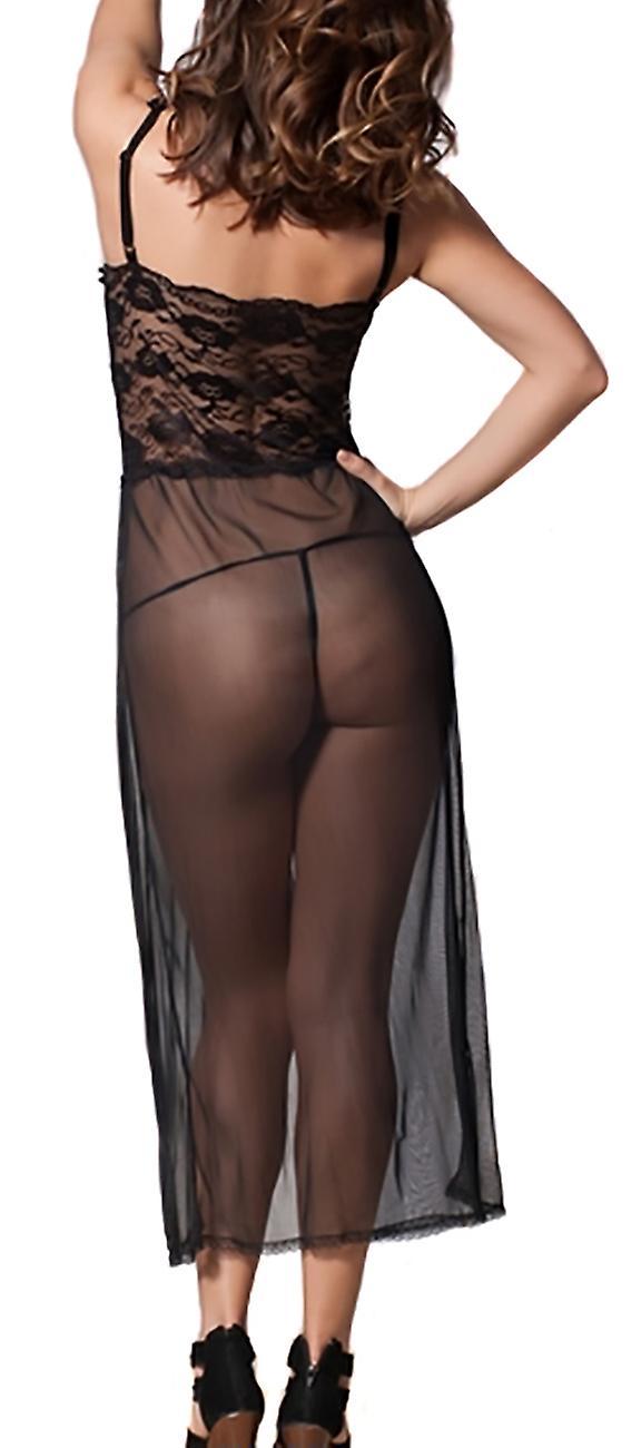 Waooh69 - long transparent nightie Henn