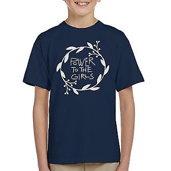 Power To The Girls Kid's T-Shirt