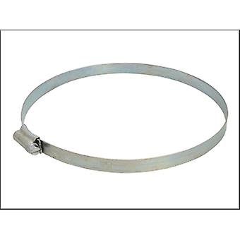 Faithfull 7 Hose Clip - Zinc Mszp 135 - 165mm