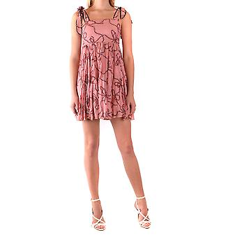 Pinko Pink Viscose Dress