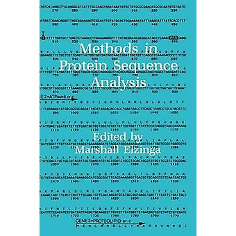 Methods in Protein Sequence Analysis by Elzinga & Marshall