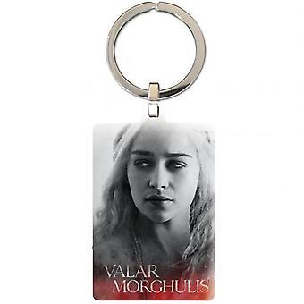 Game Of Thrones Metal Keyring Daenerys