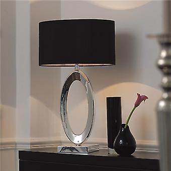Endon NERINO NERINO Table Lamp Single Fabric Shade