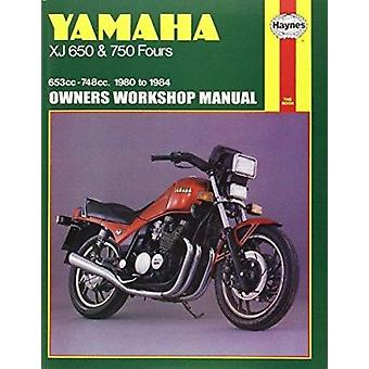 Yamaha XJ650 and 750 Fours 1980-84 Owner's Workshop Manual by Pete Sh