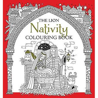 The Lion Nativity Colouring Book by Antonia Jackson - Felicity French