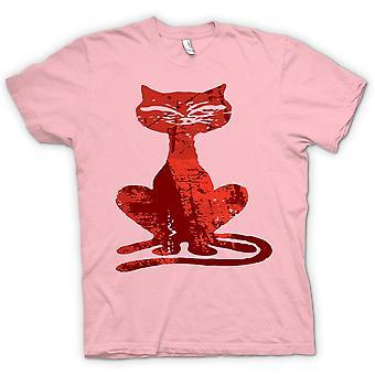 子供の t シャツ - 魔女猫 - ハロウィン - おかしい