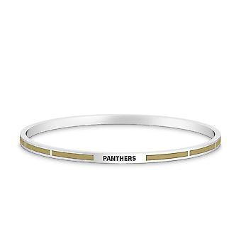 University Of Pittsburgh - Panthers Engraved Enamel Bracelet In Tan