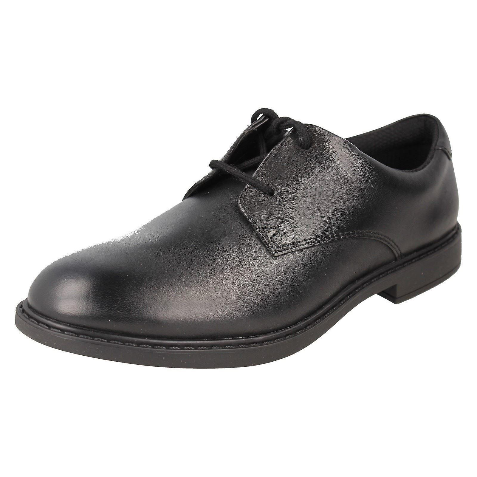 Boys Clarks Formal School chaussures Scala Loop