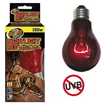 Nayeco Ampoule Night Light Red Reptile 100 W (Reptiles , Éclairage , Ampoules)