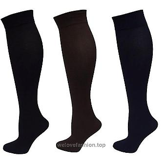 Legacy S/M Graduated Compression Trouser Socks 3 Pk Black/ Brown/ Blue A258111