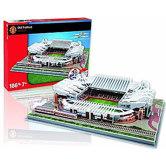 Manchester Utd. Old Trafford Stadion 3D Jigsaw Puzzle (pl)